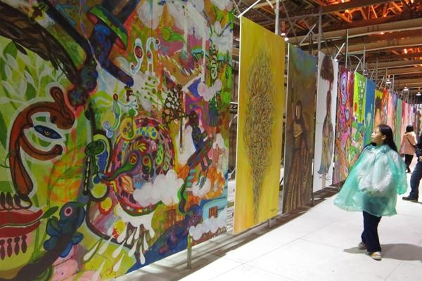 2012 新台灣壁畫隊博覽會-魚刺客與同在南島的兄弟姐妹們