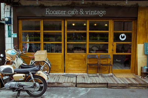 復古悠閒,一邊聽搖滾吃早餐:公雞咖啡