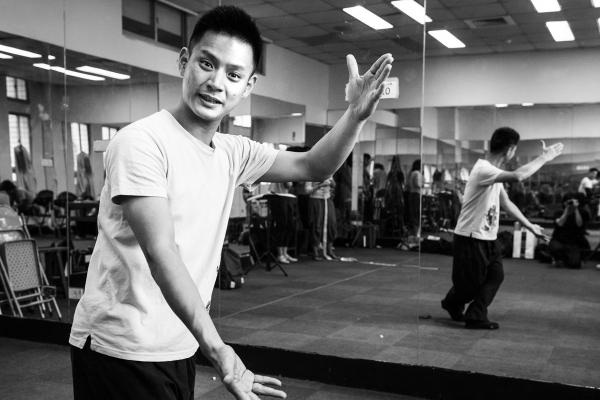 以身體實踐戲劇──專訪《幻戲》京劇武生劉祐昌