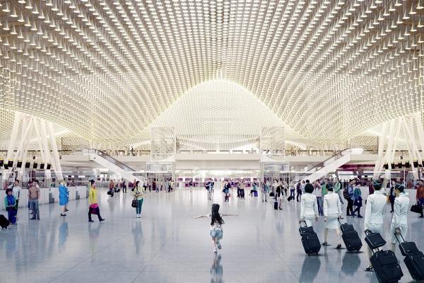 建築爵士理查.羅傑斯在台灣(三):讓桃園機場繽紛花開