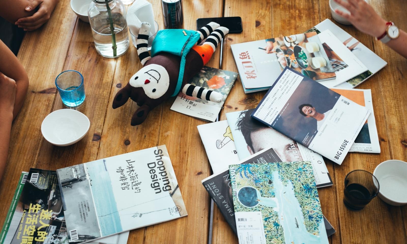 7 a.m. to 9 a.m.| 編輯餐桌:一早醒來,想翻開這本雜誌