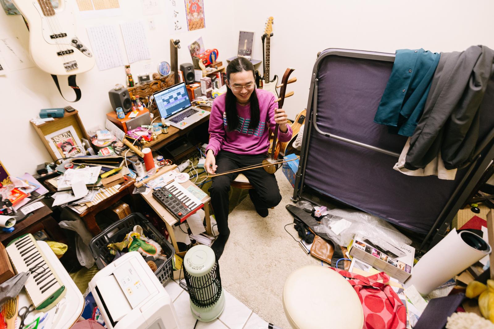 亂有才華的|用正常人的收納邏輯,我就會找不到東西——專訪百合花林奕碩