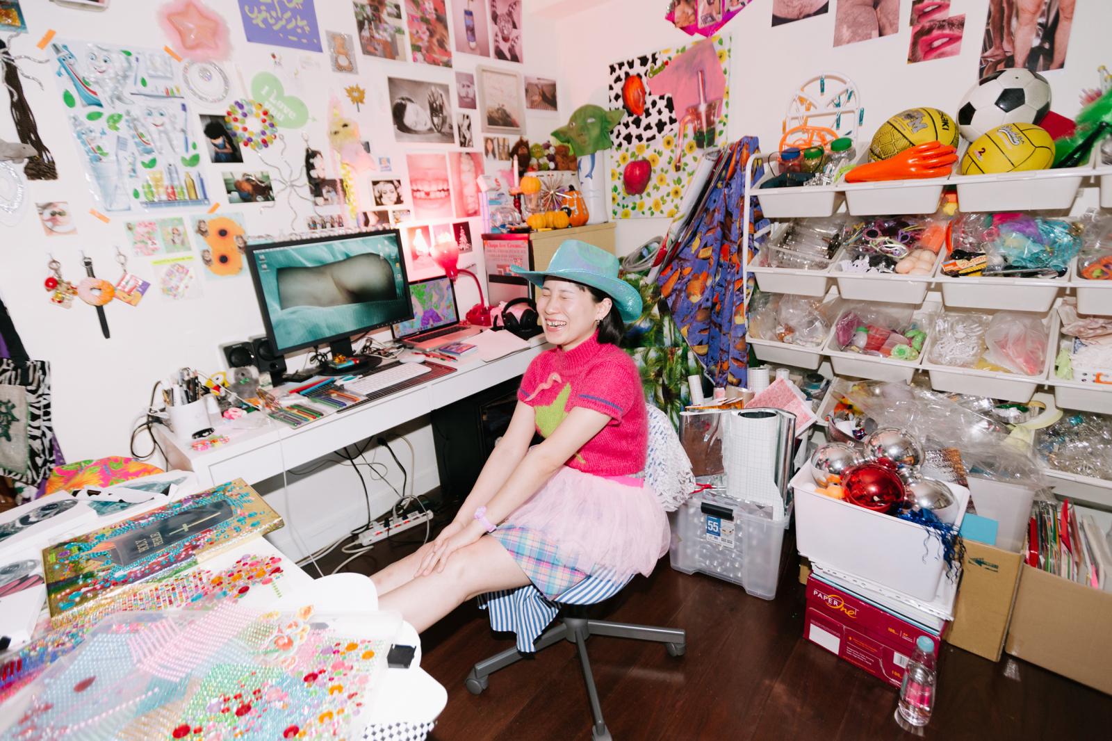 亂有才華的|Filthy is beautiful. 我想要更多漂亮的廢物——專訪藝術家吳美琪