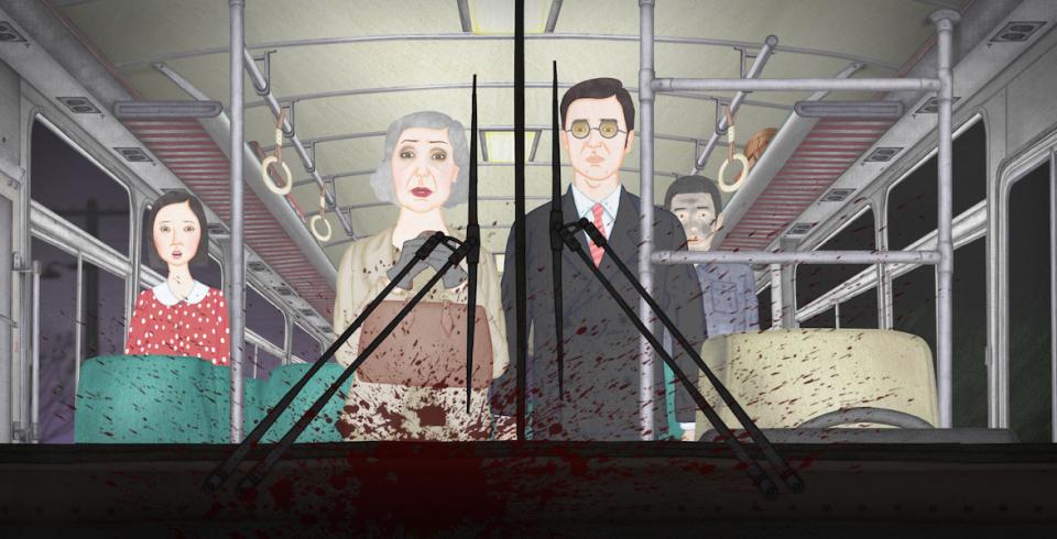 謝文明的異色動畫《夜車》《肉蛾天》:為了畫出吃人的世界,嚥不下一口肉