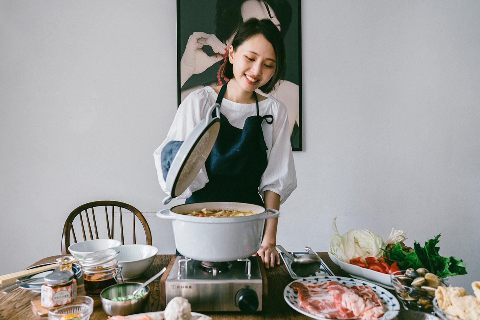 必須要煮,和煮得開心是不一樣的——昉小姐的療癒餐桌與廚房