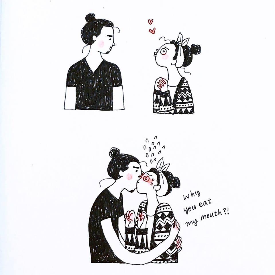 Julia Yellow 插畫 接案