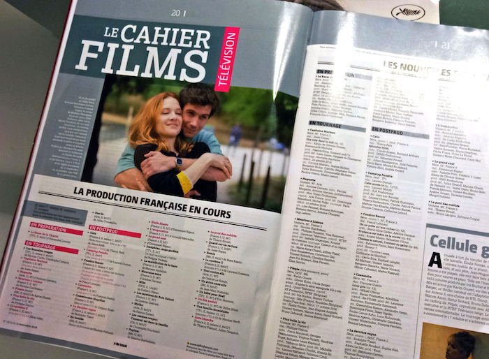 電影書報亭 電影 專欄 Le Film Français